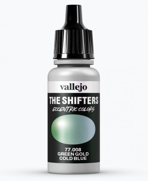 Shifters Green Gold Cold Blue