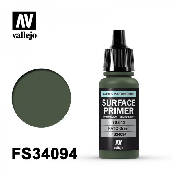 Surface Primer NATO Green, 17 ml