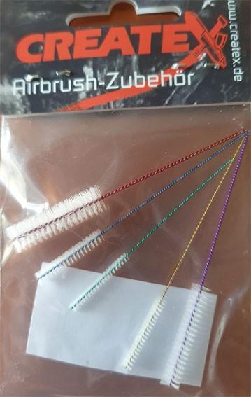 Airbrush-Minibürsten Set, 5 Stück