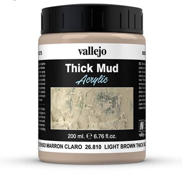 Light Brown Mud