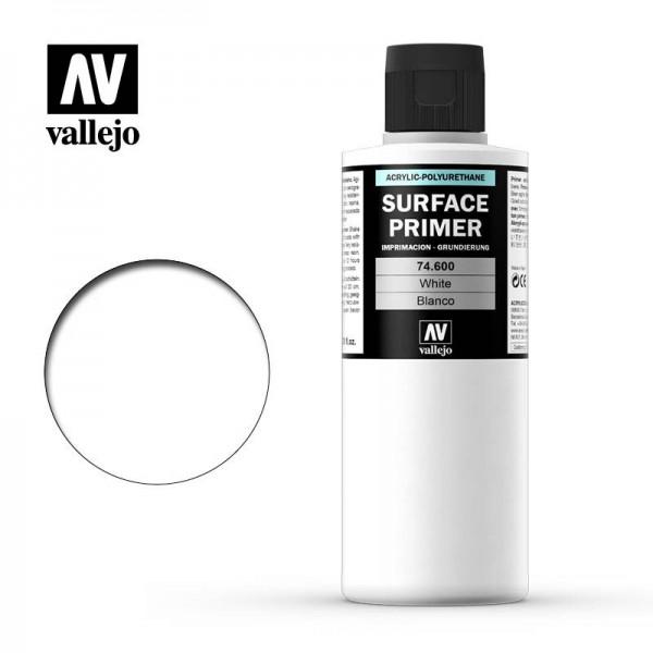 Surface Primer Weiß, 200 ml