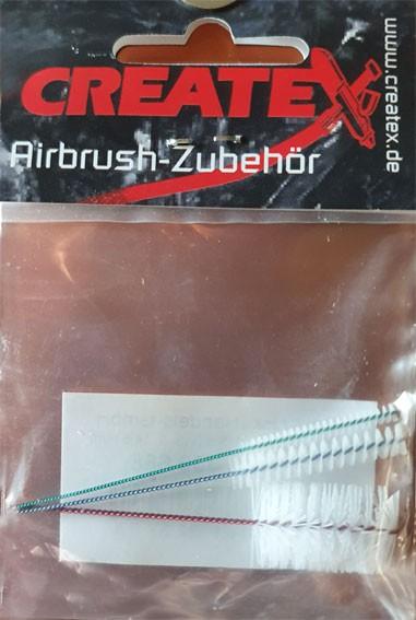 Airbrush-Minibürsten Set, 3 Stück