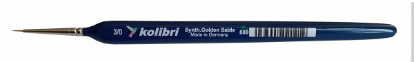 Synthetic Golden Sable-Detailpinsel 3/0