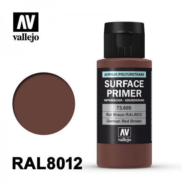 Surface Primer Rotbraun, 60 ml