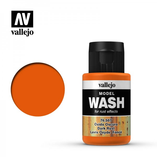 Model Wash Dark Rust