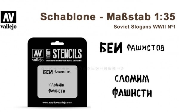 Soviet Slogans WWII Nº1
