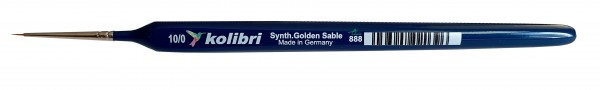 Synthetic Golden Sable-Detailpinsel 10/0