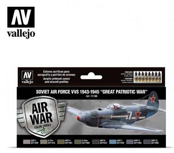 "Soviet Air Force VVS 1943 to 1945 ""Great Patriotic War"""