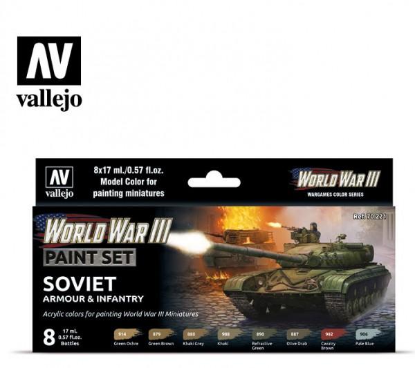 WWIII Soviet Armour & Infantry