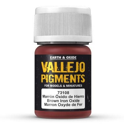Vallejo Pigment Brown Iron Oxide
