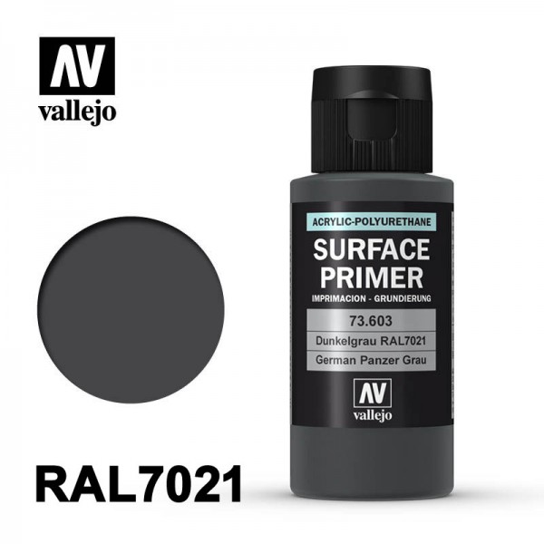 Surface Primer Dunkelgrau, 60 ml
