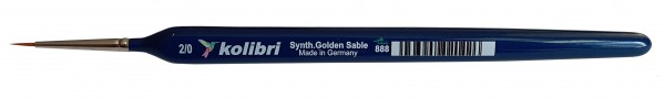 Synthetic Golden Sable-Detailpinsel 2/0