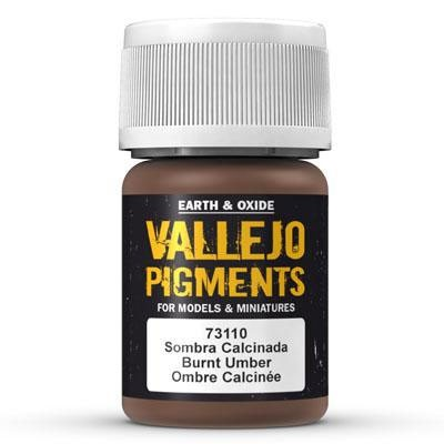 Vallejo Pigment Burnt Umber