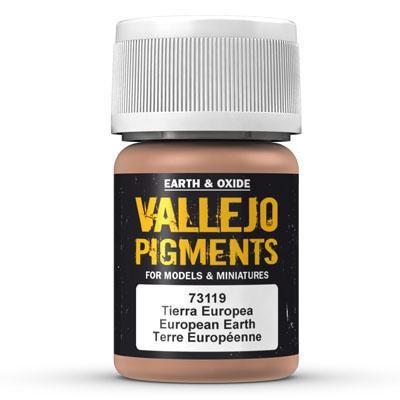 Vallejo Pigment European Earth