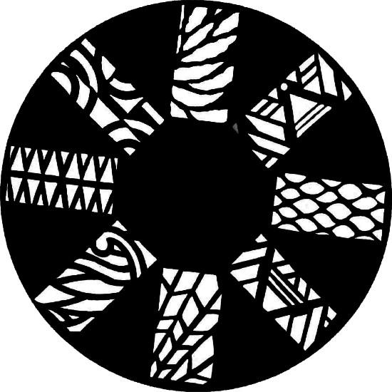 Schablone Strukturen 2