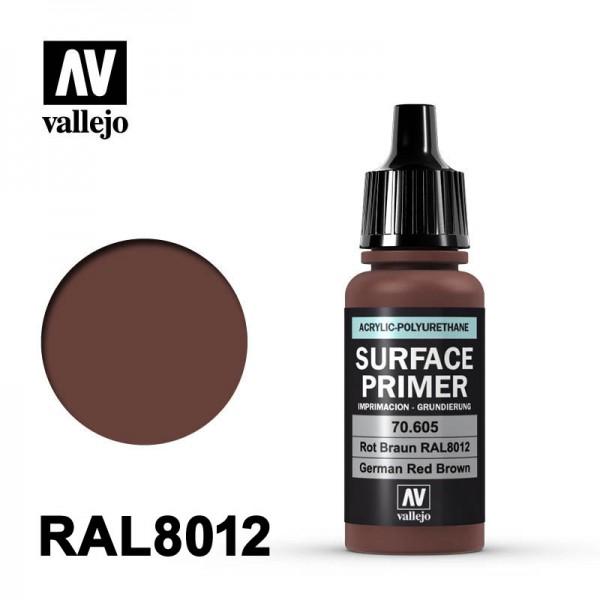 Surface Primer Rotbraun, 17 ml