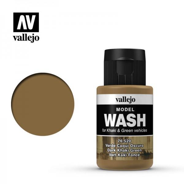 Model Wash Dark Khaki Green