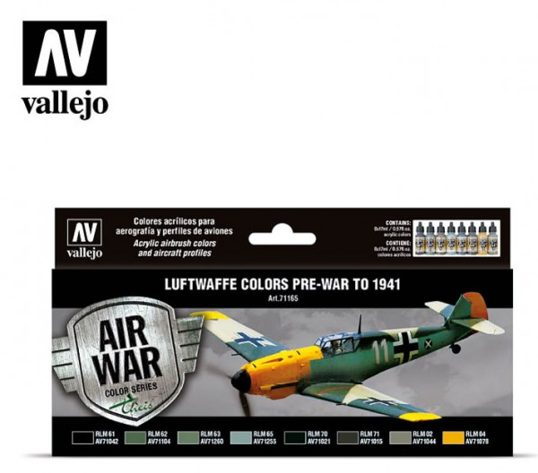 Luftwaffe Colors Pre-War
