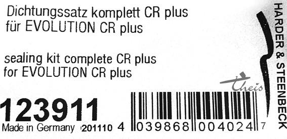 Dichtungssatz CR plus