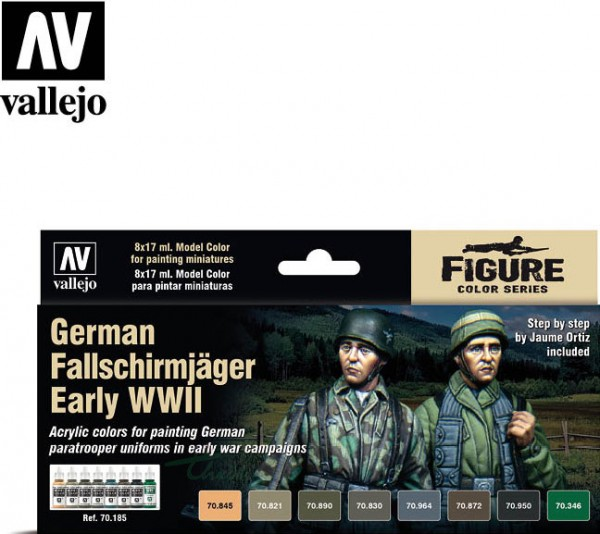 deutsche Fallschirmspringer