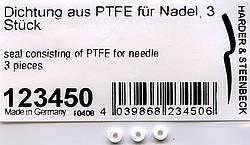 O-Ring für Nadel aus FTPE, 3 Stück