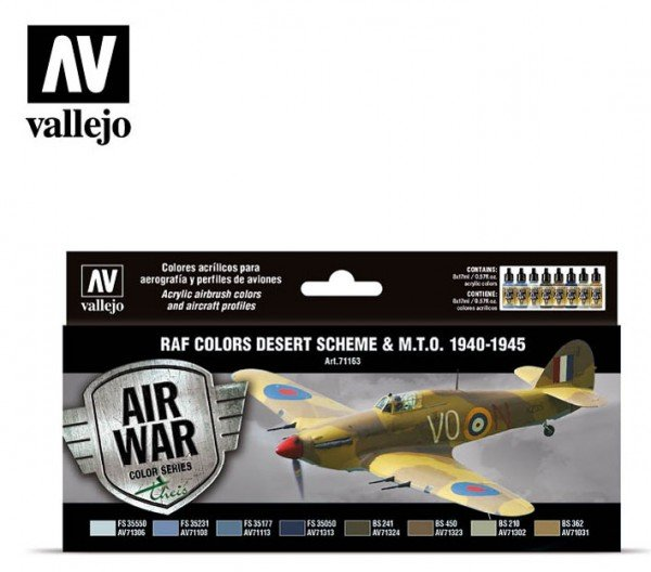 RAF Colors Desert Scheme & MTO