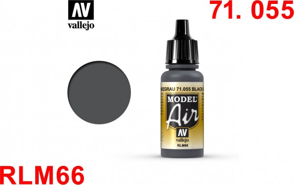 Black Grey RLM66