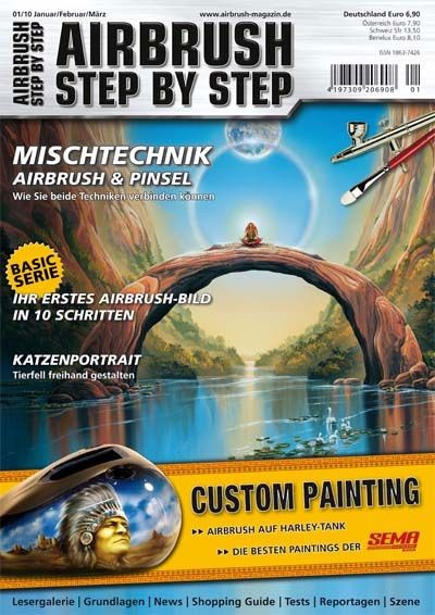 Airbrush Step by Step 01/10