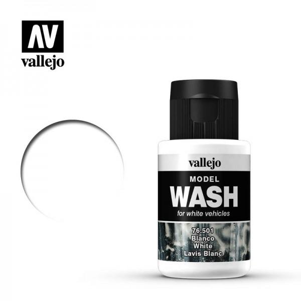 Model Wash White
