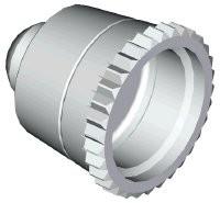 Düsenkappe I, 0,25 mm