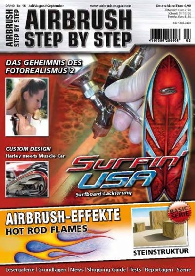 Airbrush Step by Step 03/10