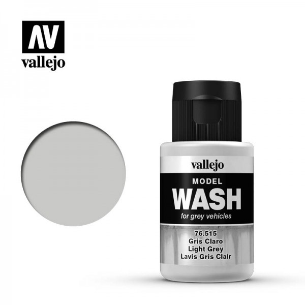 Model Wash Light Grey