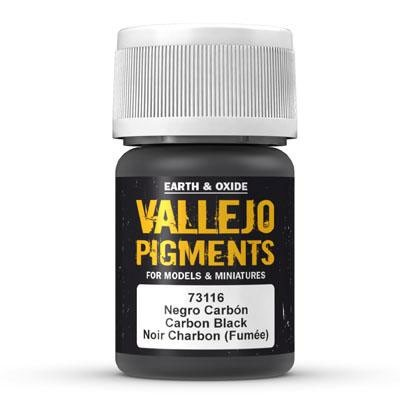 Vallejo Pigment Carbon Black (Smoke Black)