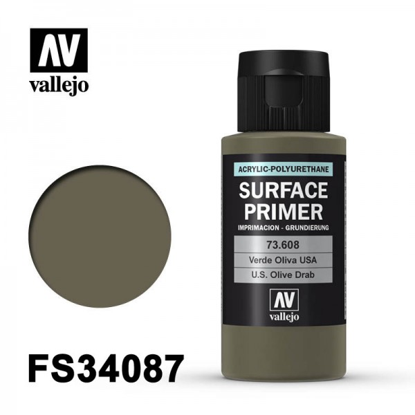 Surface Primer USA Olive Drab, 60 ml
