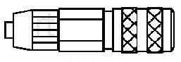 Schnellkupplung, NW 2,7 - PVC-Schlauch 4 x 6 mm