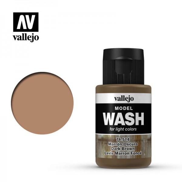 Model Wash Dark Brown