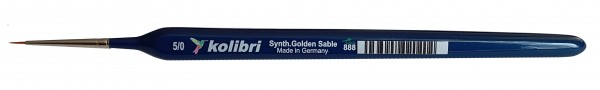 Synthetic Golden Sable-Detailpinsel 5/0