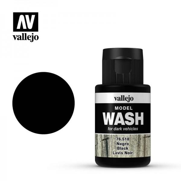 Model Wash Black