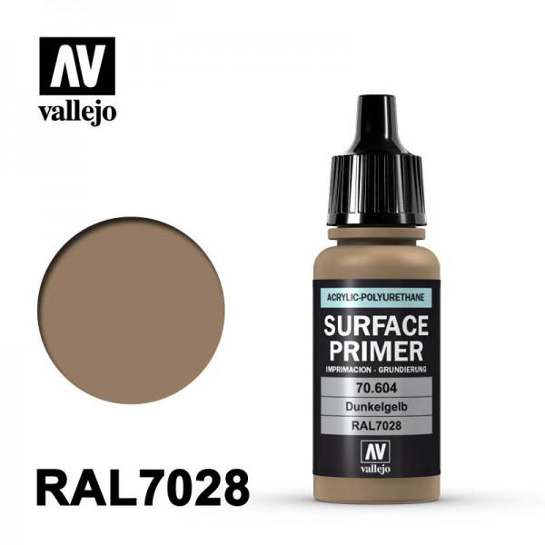 Surface Primer Dunkelgelb, 17 ml