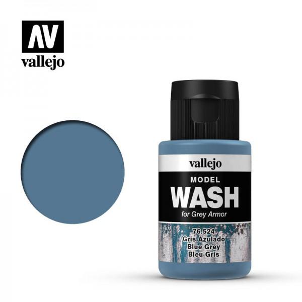 Model Wash Blue Grey