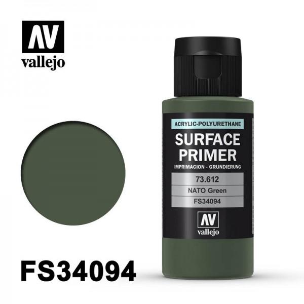 Surface Primer NATO Green, 60 ml