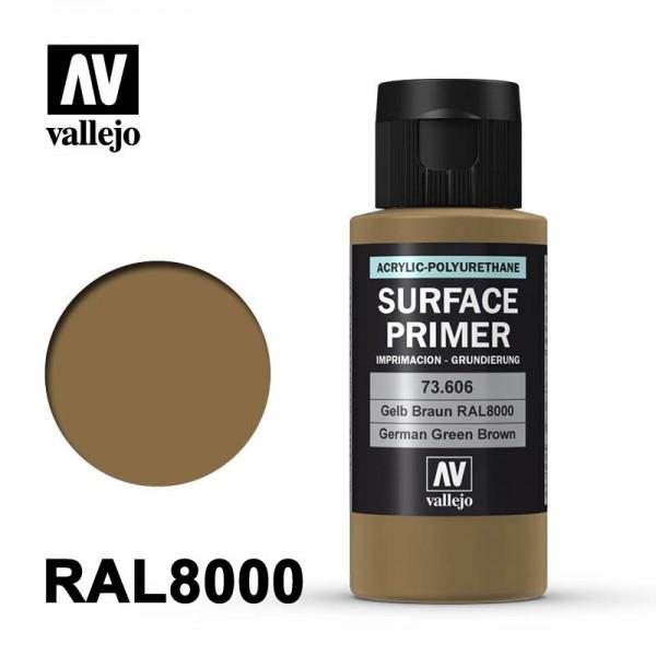 Surface Primer Gelbbraun RAL8000, 60 ml