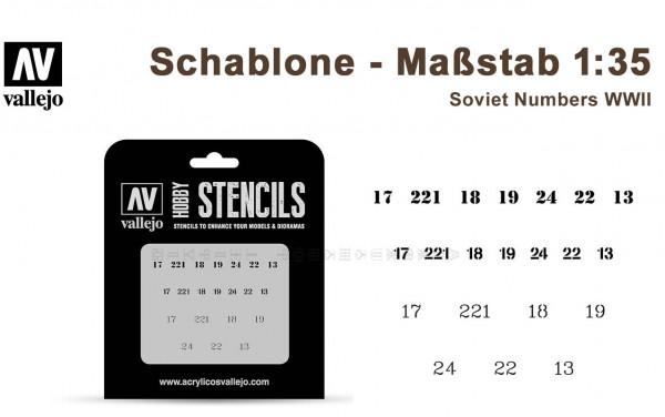 Soviet Numbers WWII