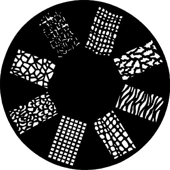 Schablone Strukturen 1