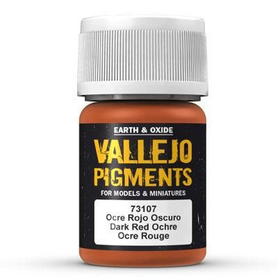 Vallejo Pigment Dark Red Ocre