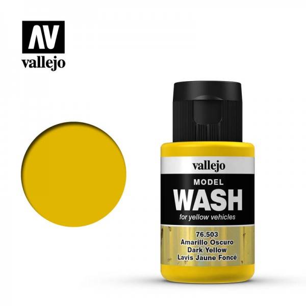 Model Wash Dark Yellow