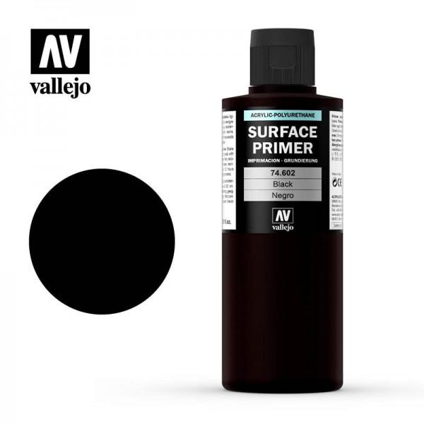 Surface Primer Schwarz, 200 ml